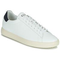 Sko Lave sneakers Clae BRADLEY VEGAN Hvid / Blå