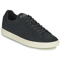 Sko Herre Lave sneakers Clae BRADLEY VEGAN Sort / Hvid