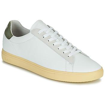 Sko Herre Lave sneakers Clae BRADLEY CALIFORNIA Hvid / Grøn