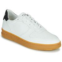 Sko Herre Lave sneakers Clae MALONE VEGAN Hvid / Blå