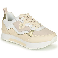 Sko Dame Lave sneakers Tommy Hilfiger MATERIAL MIX ACTIVE CITY SNEAKER Beige / Guld