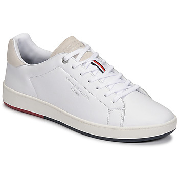 Sko Herre Lave sneakers Tommy Hilfiger RETRO TENNIS CUPSOLE LEATHER Hvid