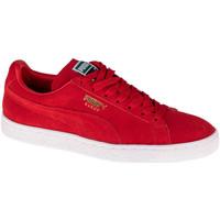 Sko Lave sneakers Puma Suede Classic Rød