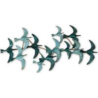 Indretning Malerier og lærreder Signes Grimalt Birds Wall Ornament Verde