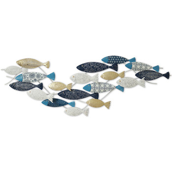 Indretning Festpynt Signes Grimalt Fish Wall Ornament Azul