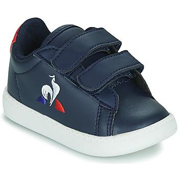 Sko Børn Lave sneakers Le Coq Sportif COURTSET INF Blå