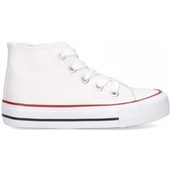 Sko Pige Høje sneakers Luna Collection 56834 Hvid