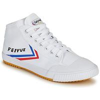 Sko Herre Høje sneakers Feiyue FE LO 1920 MID Hvid / Blå / Rød