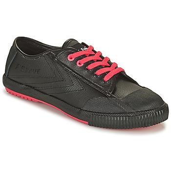 Sko Herre Lave sneakers Feiyue STAPLE X FE LO 1920 Sort / Sort