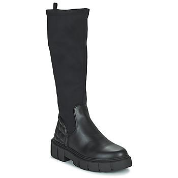 Sko Dame Chikke støvler MTNG 50190-C51975 Sort