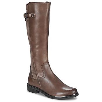 Sko Dame Chikke støvler Caprice 25504-361 Muldvarpegrå