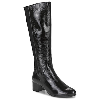 Sko Dame Chikke støvler Caprice 25517-011 Sort