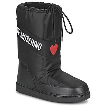 Sko Dame Vinterstøvler Love Moschino JA24032G1D Sort