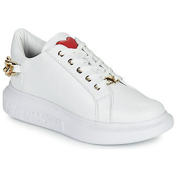 Sko Dame Lave sneakers Love Moschino JA15144G1D Hvid