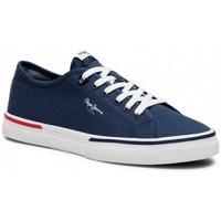 Sko Herre Lave sneakers Pepe jeans Kenton Smart Blå
