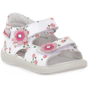 Sandaler til børn Naturino  FALCOTTO 0N01 BESENVAL WHITE