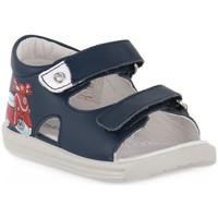 Sko Dreng Sandaler Naturino FALCOTTO 0C02 BLAVET NAVY Blu