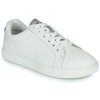 Sko Dame Lave sneakers Bons baisers de Paname SIMONE EYES Hvid