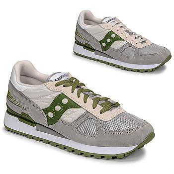 Sko Herre Lave sneakers Saucony SHADOW ORIGINAL Grå / Grøn