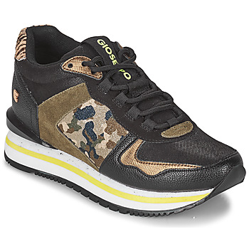 Sko Dame Lave sneakers Gioseppo GRAZ Sort / Kaki