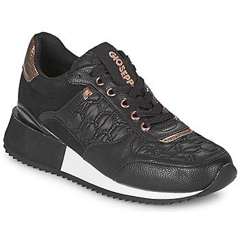Sko Dame Lave sneakers Gioseppo ENGERDAL Sort