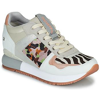 Sko Dame Lave sneakers Gioseppo GISKE Hvid / Flerfarvet