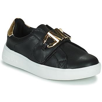 Sko Pige Lave sneakers MICHAEL Michael Kors JEM MK Sort / Guld