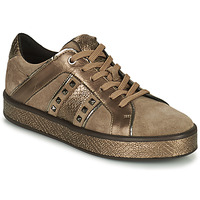 Sko Dame Lave sneakers Geox LEELU Brun / Guld