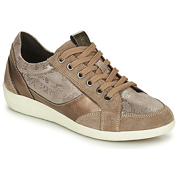 Sko Dame Lave sneakers Geox MYRIA Guld