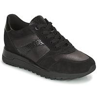 Sko Dame Lave sneakers Geox TABELYA Sort