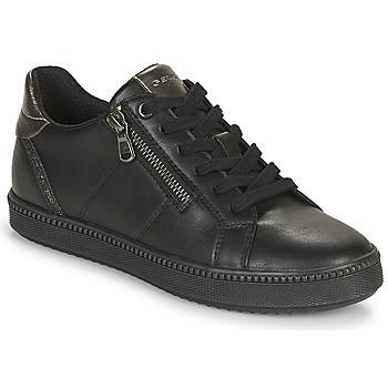 Sko Dame Lave sneakers Geox BLOMIEE Sort