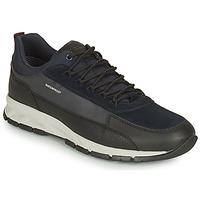 Sko Herre Lave sneakers Geox DELRAY WPF Marineblå / Sort