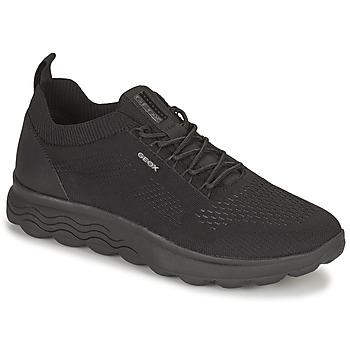 Sko Herre Lave sneakers Geox SPHERICA Sort