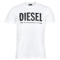 textil Herre T-shirts m. korte ærmer Diesel T-DIEGOS-ECOLOGO Hvid