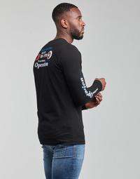 textil Herre Langærmede T-shirts Diesel T-DIEGOS-LS-K25 Sort