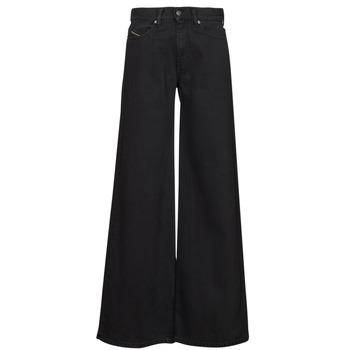textil Dame Bootcut jeans Diesel D-AKEMI Sort