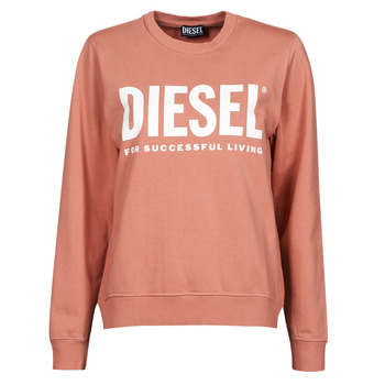 textil Dame Sweatshirts Diesel F-ANGS-ECOLOGO Pink