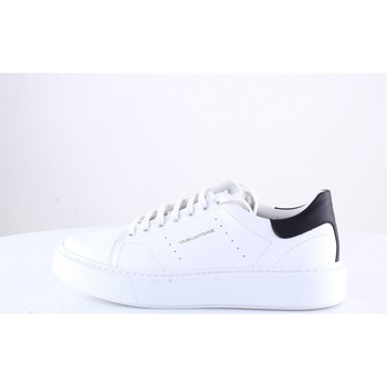 Sko Herre Lave sneakers Tagliatore WADEVITELLO Black and white