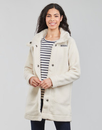 textil Dame Frakker Columbia PANORAMA LONG JACKET Hvid