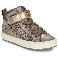 Sko Pige Høje sneakers Geox KALISPERA Guld
