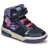 Sko Pige Høje sneakers Geox INEK Violet