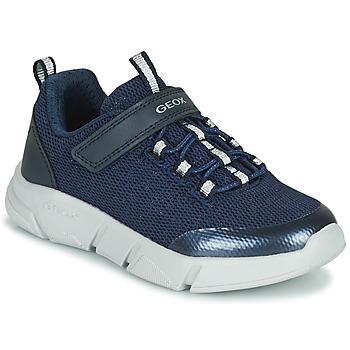 Sko Pige Lave sneakers Geox ARIL Blå