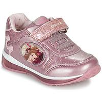 Sko Pige Lave sneakers Geox TODO Pink