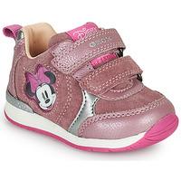 Sko Pige Lave sneakers Geox RISHO Pink