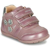 Sko Pige Lave sneakers Geox ELTHAN Pink