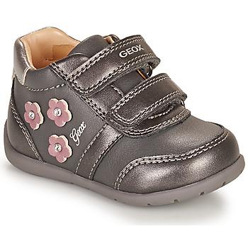Sko Pige Lave sneakers Geox ELTHAN Grå