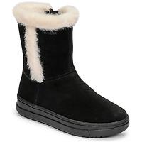 Sko Pige Chikke støvler Geox REBECCA Sort / Hvid