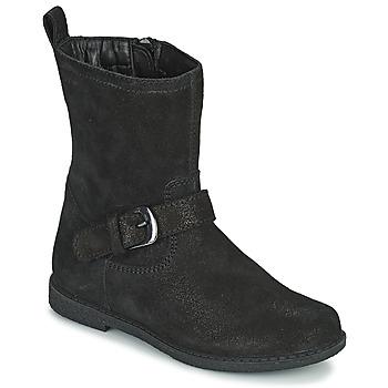 Sko Pige Chikke støvler Geox SHAWNTEL Sort
