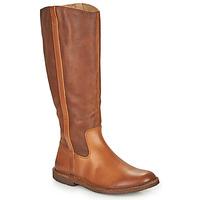 Sko Dame Chikke støvler Kickers TINTTA Kamel