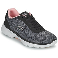 Sko Dame Lave sneakers Skechers GO WALK 6 Grå / Pink